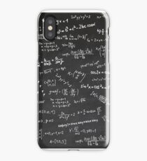Blackboard With Math Formulars iPhone Case