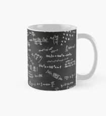 Blackboard With Math Formulars Mug