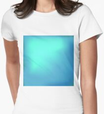 Blue Abstract Sky Background Women's Fitted T-Shirt