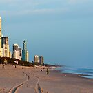 Surfers Paradise, Gold Coast Queensland by Amanda-Jane Snelling