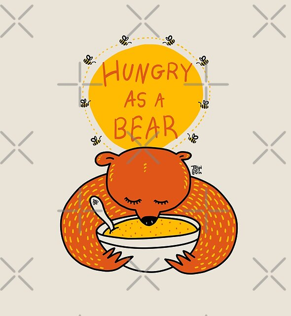 Hungry as a Bear [Full Color] by TsipiLevin