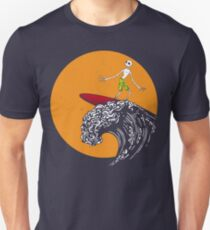 Surfing Before Christmas Unisex T-Shirt