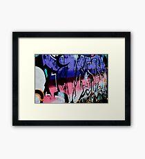 Cafe Grafe Framed Print