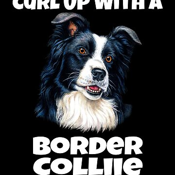 Curl Up With A Border Collie Dog by fantasticdesign