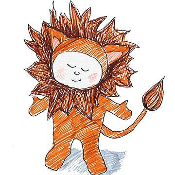 Lion boy by picklejarnz