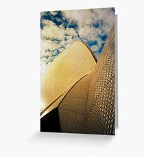 Opera House and stippled sky #1 Greeting Card
