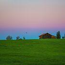 Germany. Bavaria. Countryside. Barn. Sunrise. by vadim19