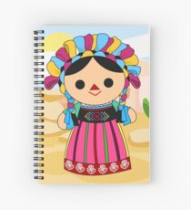 Maria 3 (Mexican Doll) Spiral Notebook