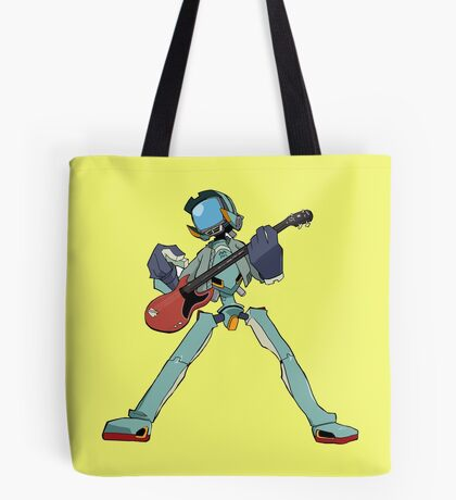 FLCL Music Band Tote Bag
