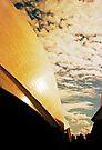 Opera House and stippled sky #3 by Juilee  Pryor