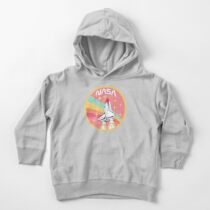 Nasa Pastel Colors - Soft Pink Edition Toddler Pullover Hoodie