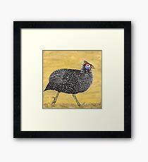 Guineafowl Framed Print