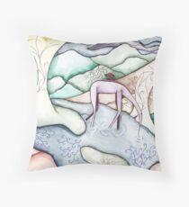 The derelict Anteater Throw Pillow