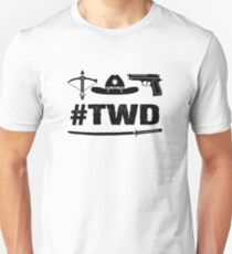 Camiseta ajustada The Walking Dead - TWD