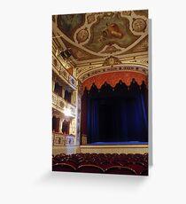 Giuseppe Verdi Theatre - Busseto Greeting Card