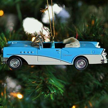 Blue Car by Michiale