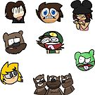 The Oddfather Sticker Pack 2 by PieLordPictures