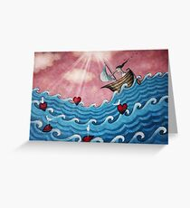 I have you in my sights Greeting Card