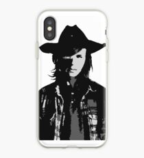 The Walking Dead - Carl Grimes Profile iPhone Case