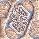 Abstract ancient motif by blackhalt