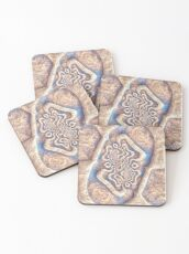 Abstract ancient motif Coasters