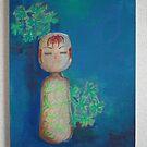 japanese doll by CathySurgeoner