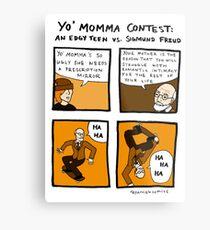 Yo Momma Contest Metal Print