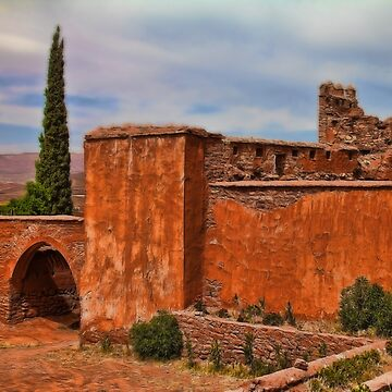Morocco. The Old Kasbah Ruins. by vadim19
