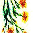A Splash of Sunshine - Flowers by Linda Callaghan
