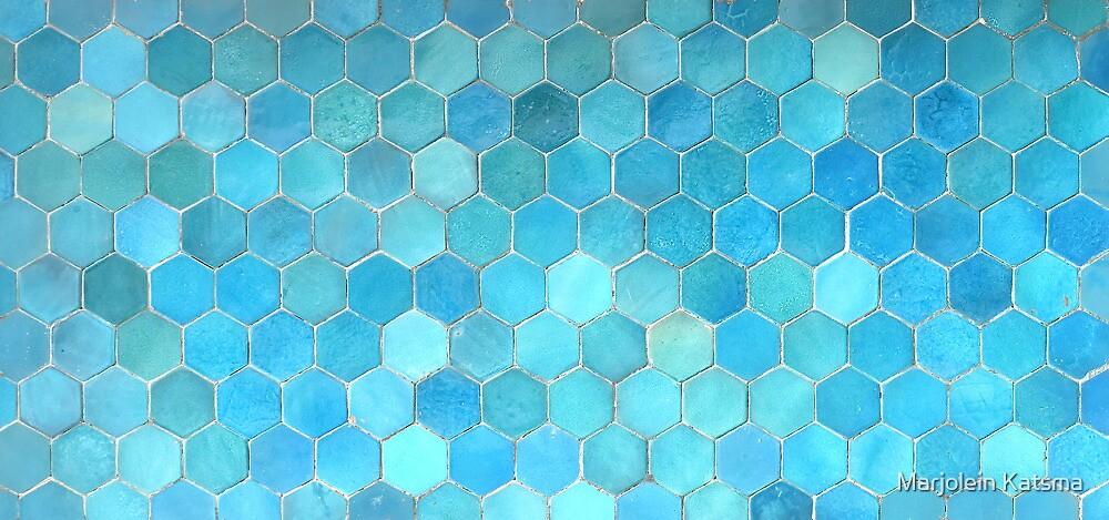 Bukhara Blue (2) by Marjolein Katsma