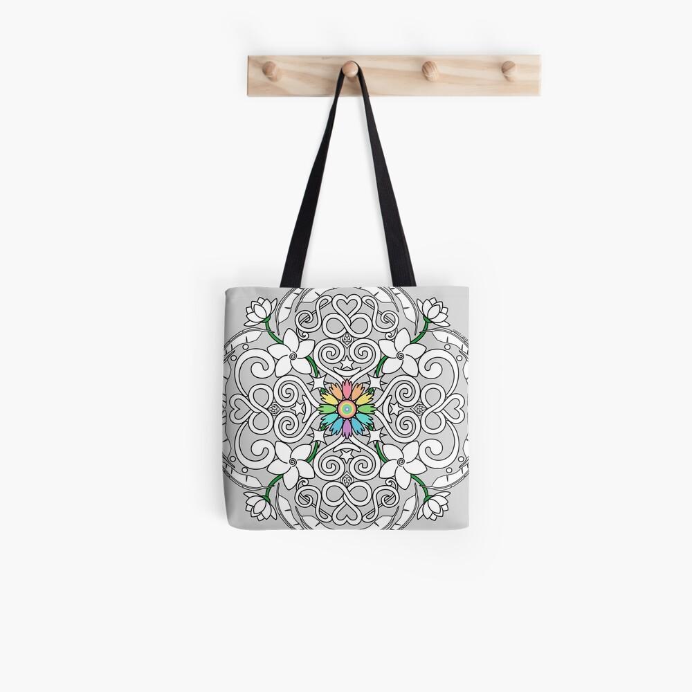 Satya Prema Mandala Tote Bag