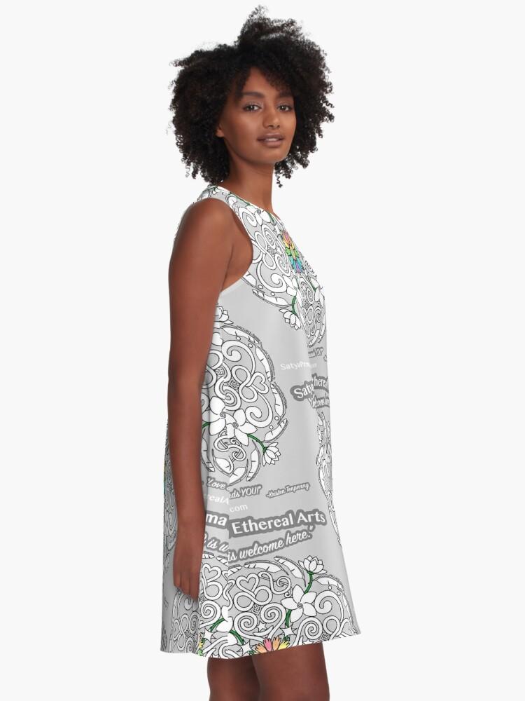 Alternate view of Satya Prema Mandala A-Line Dress