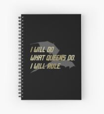 RULE Daenerys Targaryen Spiral Notebook