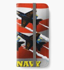 U.S. Navy Blue Angels  iPhone Wallet/Case/Skin