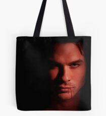 Damon Salvatore Ian Somerhalder Tote Bag