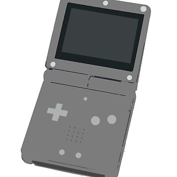 GameBoy Advance SP by RaptureTees
