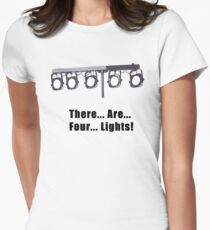 There are Four Lights Women's Fitted T-Shirt