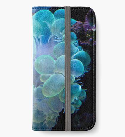 Blasenkoralle iPhone Flip-Case