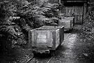 Coal Carts  by Christine Wilson