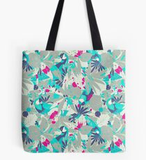 Brazil Parrots Palm Tree Crazy Hip Hop Pattern Tote Bag