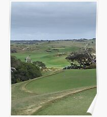 The National - Moonah - 4th Hole Poster