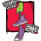 Bruised Knuxx, Ripped Chucks by JonahVD