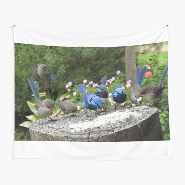 Bluey Feeding Frenzy Tapestry