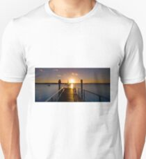 Sailing By - Tipplers Resort South Stradbroke Island Qld. Unisex T-Shirt
