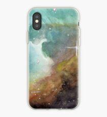Omega-Nebel - Fragment iPhone-Hülle & Cover
