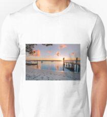 Tippler's Reflections - South Stradbroke Island Queensland. Unisex T-Shirt
