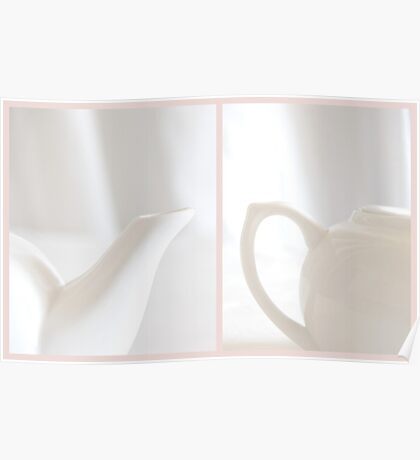 White Tea Poster