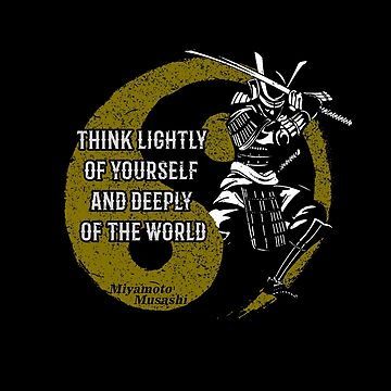 Samurai Musashi Advise  by MDAM