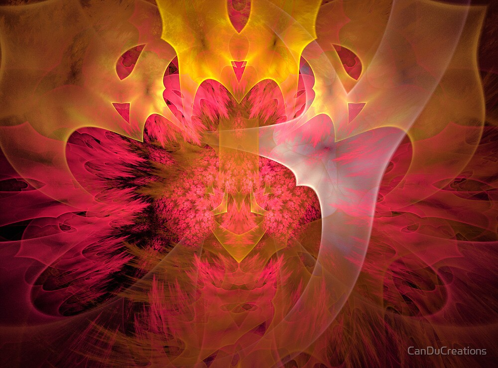 Thinking of pink and yellow by CanDuCreations