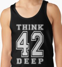 Think Deep 42 Tank Top